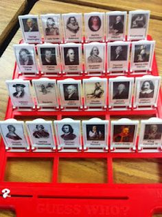 A Crafty Teacher: Guess Who! American History - Could Replace with Shapes