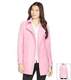 Lauren Ralph Lauren® Double-Breasted Trench Coat- also available in Petite & Plus