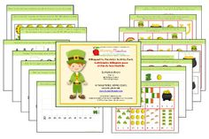 St. Patrick's Day Bilingual Activity Pack {PRINTABLE}