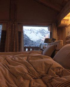 Sono in paradiso . Posso cambiare idea e adorare la montagna? @catelierhome  #vistamontebianco by valdirose
