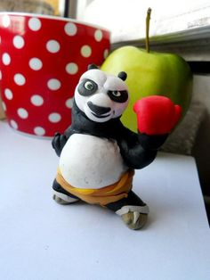 kung fu panda Po  fimo sculpey polymer clay