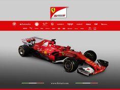 Ferrari SF70H race car for season 2017.