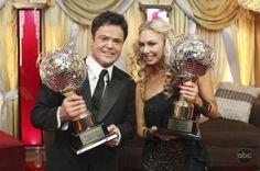 Season 9 winners: Donny Osmond & Kym Johnson