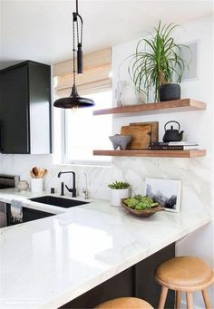 Stunning Black White Wood Kitchen Decor Ideas What is Decoration? Decoration is the art of decorating … Home Decor Kitchen, New Kitchen, Kitchen Dining, Kitchen Ideas, Rustic Kitchen, Apartment Kitchen, Design Kitchen, Awesome Kitchen, Kitchen Modern