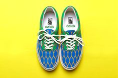 Kenzo x Vans 2012 Summer Collection. Not my style but pretty cool none the less.