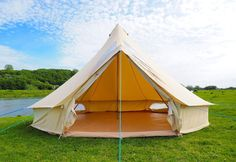 5m Stargazer Bell Tent  Looking for a beautiful new bell tent so you can make the most of this fantastic weather and spend a few days under canvas?  #camping #belltents #tent  #canvas  #camp