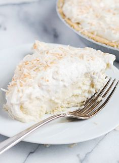 Simply Perfect Homemade Coconut Cream Pie