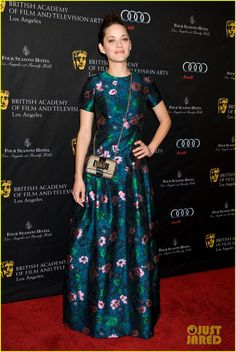 Marion Cotillard in Erdem - BAFTA Tea Party 2013
