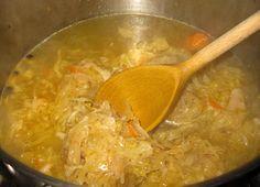 Polish Girl Cooking: Kapuśniak (Sauerkraut Soup)