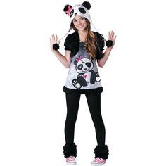 Pandamonium Halloween Costume for Teen Girls