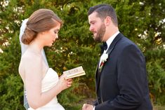 how to write your own wedding vows, heidi lockhart somes photography, the castle at rockwall, vow books, menguin tuxedo, blue willow by anne barge, etsy, grand slam glam, wedding tips,  dallas wedding, engaged, first look