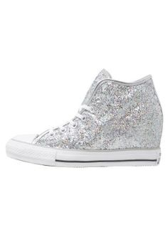 CHUCK TAYLOR ALL STAR MID - Sneakers high - silver/white/storm wind