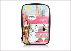 Benefit Cosmetics - beauty heaven makeup bag #benefitgals