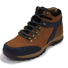 4351-Taba-Lacivert Büyük Numara Trekking Ayakkabı(4351-Taba-Lacivert-45)