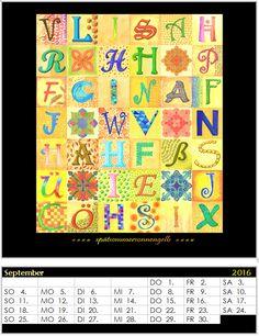 Gruppenprojekt Kalender 2016 - Monat September