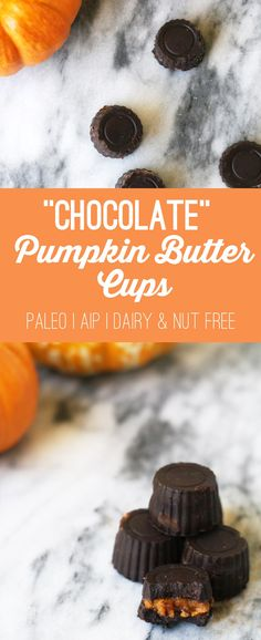 """Chocolate"" Pumpkin Butter Cups (AIP, Paleo, Dairy & Nut Free)"
