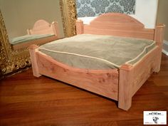 BONE TIRED BEDS Small Cedar Dog Bed by Summit by BoneTiredBeds, $175.00