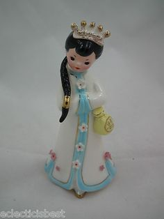 Vintage Josef Originals JAPAN Asian LITTLE INTERNATIONALS Figurine China