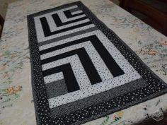Caminho mesa em patchwork