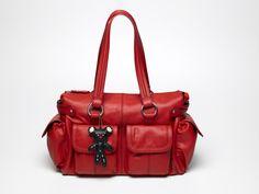Il Tutto Mia Diaper Bag in Red