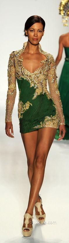 Farah Angsana Mercedes Benz Fashion Week 2011