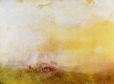 Turner, Joseph Mallord William: Sonnenaufgang mit Seeungeheuern (Sunrise with Sea Monsters)