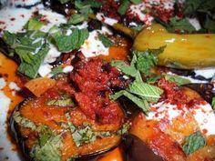 Rezept: Gebratene Auberginen (Afghanische Art)