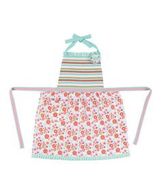 This Poesy Pocket Apron - Adult by Peking Handicraft is perfect! #zulilyfinds