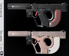 POTD: The AEROMECH APS-F1 Handgun System Concept -The Firearm Blog Sci Fi Weapons, Concept Weapons, Athens Airport, Frat Coolers, Futuristic Design, Golf Fashion, Hand Guns, F1, Bowling Ball