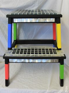 Colorful step stools