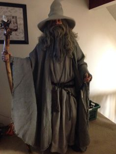 Gandalf the grey inspired costume gandalf costumes and halloween my completed gandalf costume solutioingenieria Gallery
