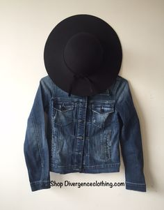 Shop Divergence CLothing outfits  #ootd #outfits #style #streetfashion #grunge #boho #floppyhats #blackfloppyhat #denim #jeanjacket #fallfashion #cuteoutfits #fashionblogger #collegeoutfits #autumn #fall #weekendoutfits