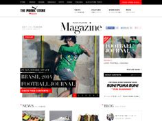 直営プーマストア発 最新情報 | THE PUMA STORE MAGAZINE[プーマストア マガジン] « WebDesign Bookmark S5-Style