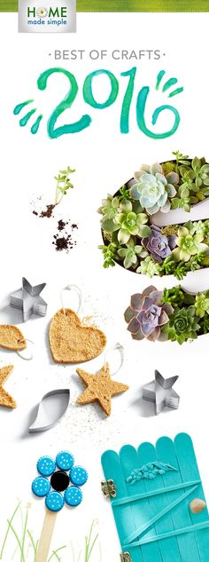Beat winter boredom with our top 10 crafts and DIY projects from Get creative with our easy how-tos for succulents, fairy doors, glitter candles and more! Simple Tv, Home Made Simple, Make It Simple, Diy Craft Projects, Projects To Try, Craft Ideas, Home Crafts, Diy And Crafts, Glitter Candles
