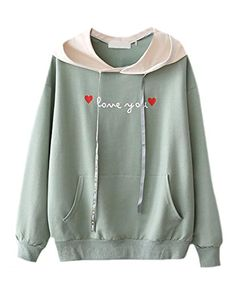 77f20097135 Cruiize Womens Autumn Fitted Pullover Hoodie Contrast Color Sweatshirt Long  Hoodie