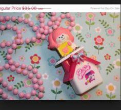 Niftyvintagegirl ♡ 80s Poochie  Necklace pop Fairy Kei Sweet Lolita
