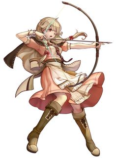 Faye Battle Stance from Fire Emblem: Heroes