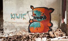 POINT OUT YOUR WALL by The-Kiwie