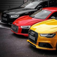 Audi S8, R8 and RS 6