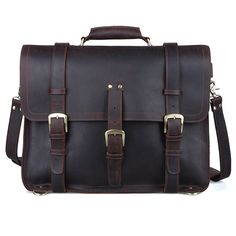Men s Large Leather Backpack 17
