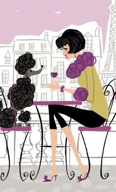 Poodles and Paris!!