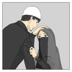 Love Cartoon Couple, Cute Love Cartoons, Cute Love Couple, Best Friends Cartoon, Friend Cartoon, Girl Cartoon, Cute Muslim Couples, Cute Anime Couples, Romantic Couples