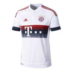 Adidas FC Bayern München Auswärts Trikot 2015/2016 bastian schweinsteiger 31 + logos