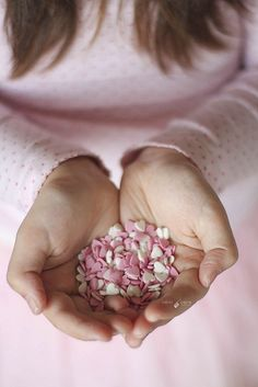 Treasures to Hold ~ Pink, White Hearts ~ by Isabel Pavía I Love Heart, With All My Heart, Giving Hands, Open Hands, Everything Pink, Happy Valentines Day, Girly Things, Pretty In Pink, Hold On