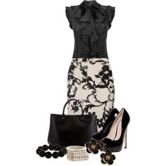 """NYLC Clothes: classy black Looks great for """"business casual"""" attire necessary for the National Young Leaders Conference this summer in Washington, D. dinner attire Designer Clothes, Shoes & Bags for Women Jw Mode, Work Wear Office, Office Chic, Office Style, Style Feminin, Casual Mode, Classy Casual, Classy Chic, Spring Work Outfits"""