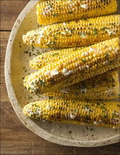 ways-to-eat-corn-on-the-cob-this-summer  Grilled Corn with Sweet Honey Butter
