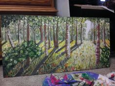 Forest Art Work, My Arts, Painting, Artwork, Work Of Art, Paintings, Draw, Drawings