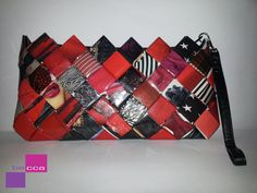 Recycled Fashion Magazine Clutch  Handbag  by beccahandbags ♡♡