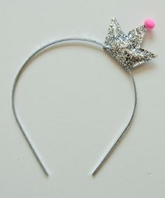 tiny crown headband.