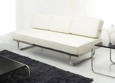 Sofa Day Bed Originally Designed By Le Corbusier Is A Whose Backrest Pivots Back To Create Modern Single This High Quality Reproduction Of The